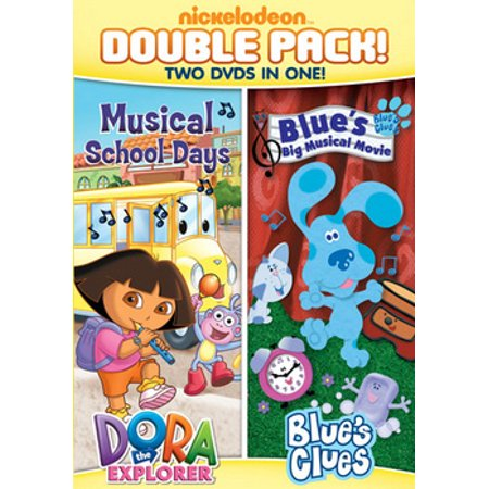 DORA & BLUES CLUES DBLE FEATURE-DORA MUSICAL SCHOOLD DAYS & BLUES BIG MUSIC - Dora Halloween Full Movie