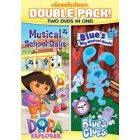 DORA & BLUES CLUES DBLE FEATURE-DORA MUSICAL SCHOOLD DAYS & BLUES BIG MUSIC (DVD)