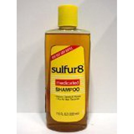 Sulfur 8 Deep Cleaning Shampoo for Dandruff, 7.5
