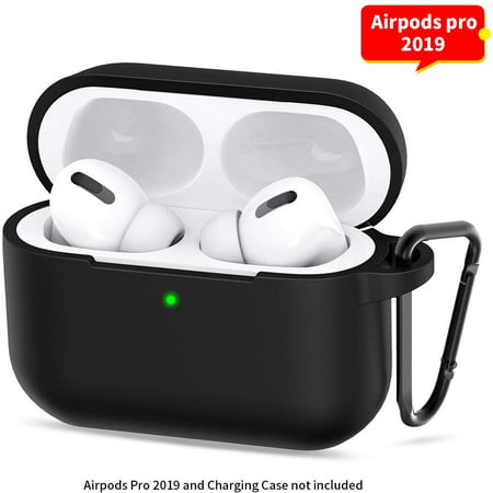 AirPod Pro Case 360°Protective Silicone AirPods Pro Accessories Kit (Front...