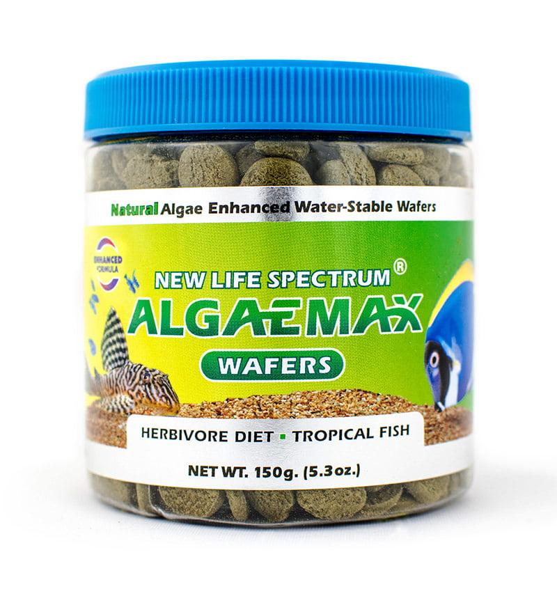New Life Spectrum AlgaeMax Tropical Fish Food Wafers, 5.29 oz