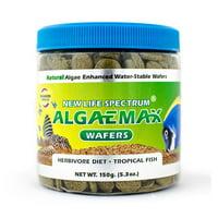 New Life Spectrum AlgaeMax Tropical Fish Food Algae Wafers