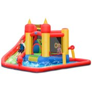 Inflatable Water Slide Jumping Bounce House for Kids