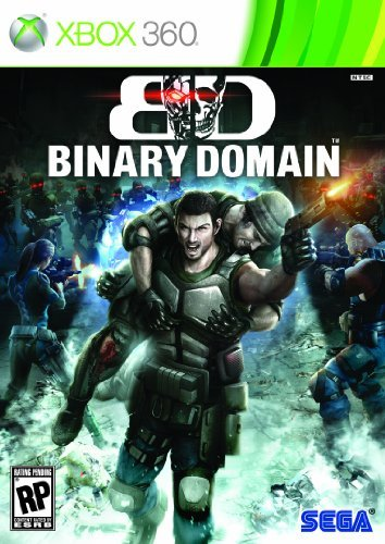 Sega Binary Domain Third Person Shooter DVD-ROM Xbox 360 by Sega