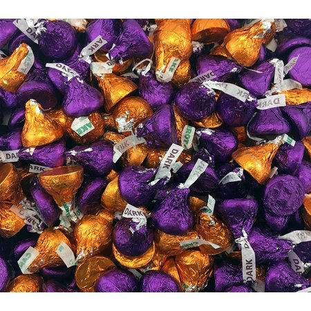 hershey 39 s kisses mix carrot cake flavor and dark chocolate kisses purple orange. Black Bedroom Furniture Sets. Home Design Ideas
