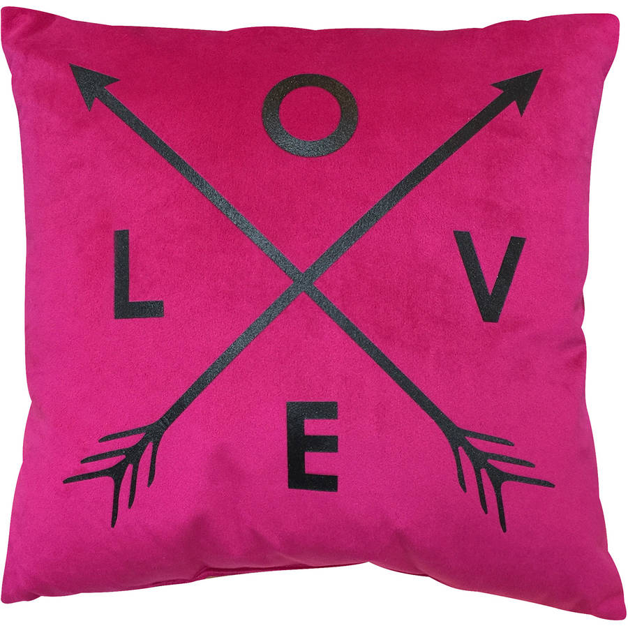 your zone love decorative pillow
