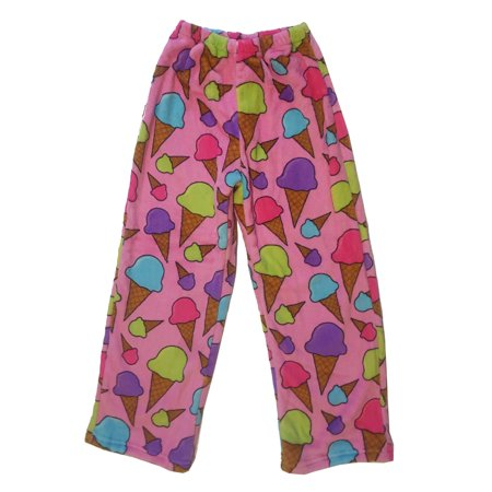 Confetti and Friends Girl's Fuzzy Plush Pants