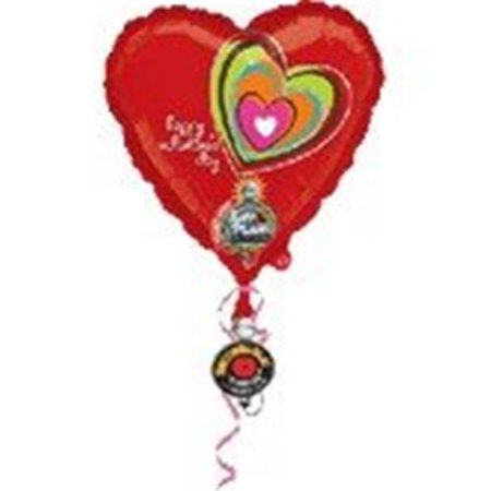 Amscan International Happy Valentines Day Sing A Tune Foil Balloon](Singing Balloons)