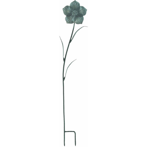 """World Source Partners 8433 6"""" X 3"""" X 36"""" Metal Periwinkle Garden Stake by World Source Partners"""