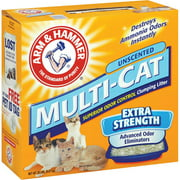 Arm & Hammer: Multi-Cat Extra Strength Unscented Cat Litter, 20 Lb
