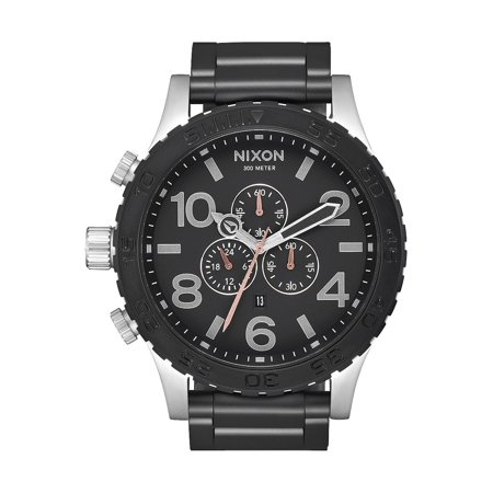 Nixon, 51-30 Chrono Watch - Black/Steel ()