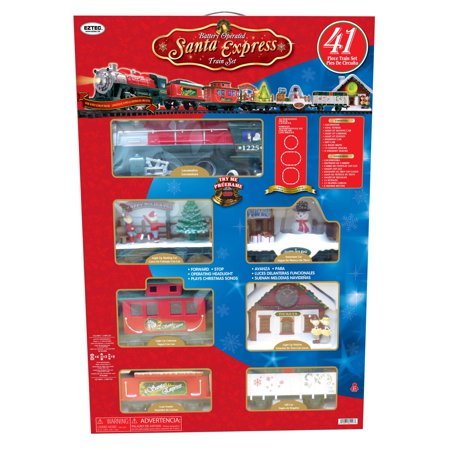 Holiday Time Santa Express - Gorham Santas