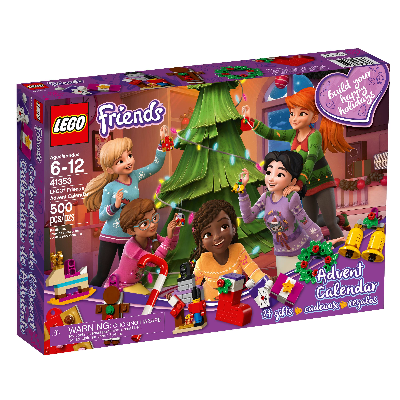 Lego Friends 41353 Kid Children S Toy Set 24 Day Advent Calendar Holiday Box