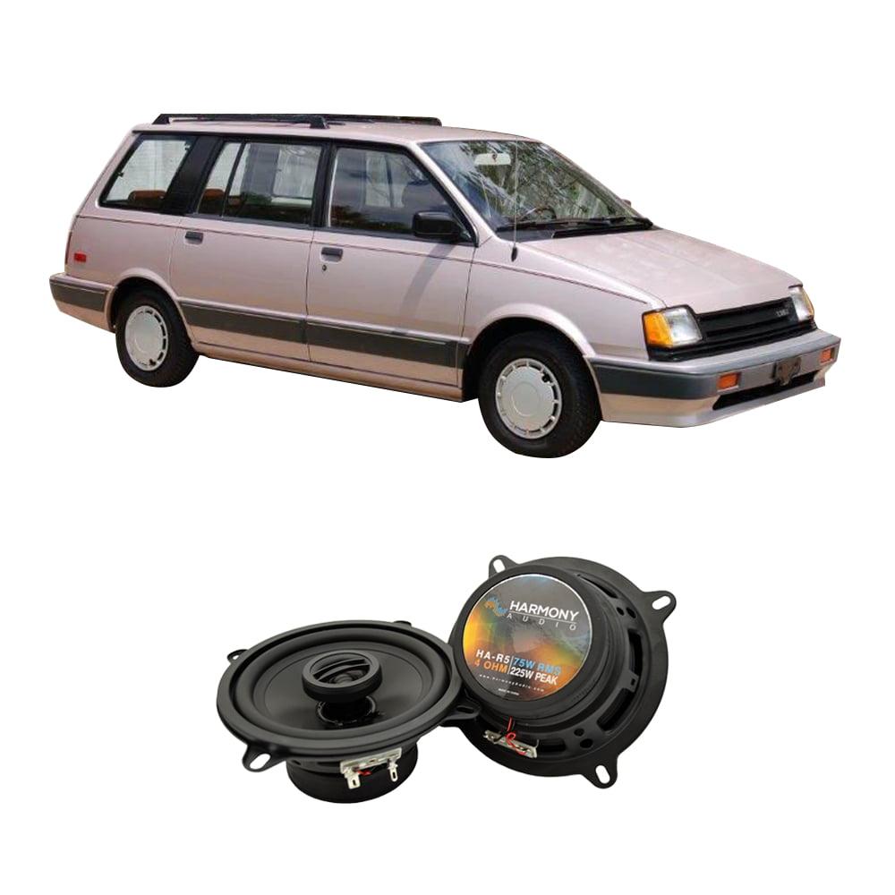 Fits Dodge Colt Vista 1986 Rear Deck Replacement Speaker Harmony HA-R5 Speakers
