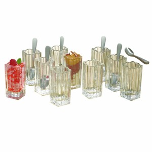 Fifth Avenue Crystal Alexandria 21 Piece Taster Shot Glass Set