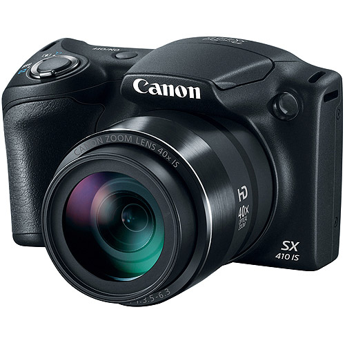 Canon PowerShot SX410 IS Camera with 20 Megapixels and 40x Optical Zoom