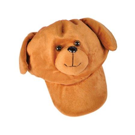 Adults Kids Plush Adjustable Bear Animal Zoo Baseball Cap Hat Costume