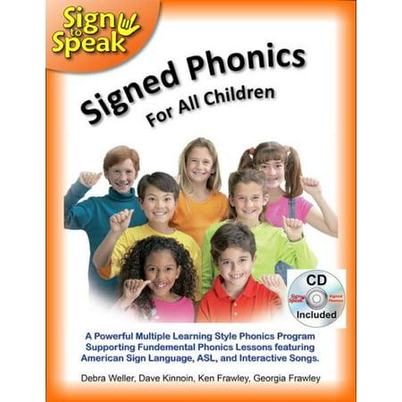 Signed Phonics For All Children