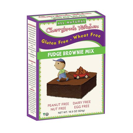Cherrybrook Kitchen Brownie Mix - Wheat & Gluten Free - Pack of 6 - 14 - Cherrybrook Kitchen Gluten Free