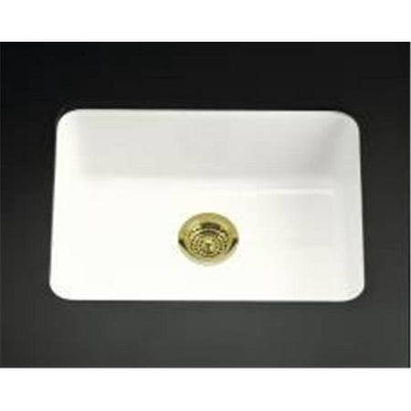 Kohler Iron-Tones Self Rimming Or Undermount Cast Iron Sink White