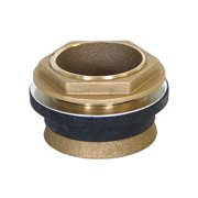 KISSLER & CO Brass Toilet Spud,  Brass,  For Use With Most Toilets 57-0520