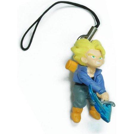 Bandai Dragon Ball Z Trunks Figure Phone Strap