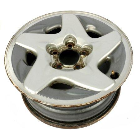 "1993-1997 Dodge Intrepid Single 16 x 7"" Steel Polycast 5 Lug Wheel Rim 4582681"