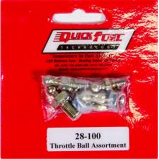 Quick Fuel Technology 28-100 Throttle Ball Assortment