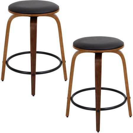 Amazing Porto Counter Stools Set Of 2 Multiple Colors Ibusinesslaw Wood Chair Design Ideas Ibusinesslaworg