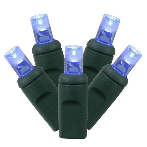 Vickerman Multicolored Wide-Angle LED String Lights, 100 Count