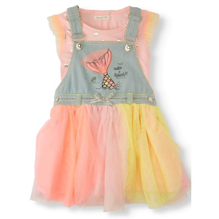 Forever Me Mermaid Skirtall with Petal Skirt (Toddler Girls) ()