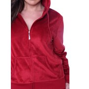 6b166e6a6b9 Universal PS2828-09-2XL Velour 2 Piece Womens Plus Size Set