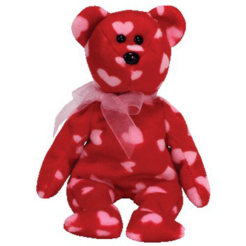 TY Beanie Baby - LITTLE KISS the Bear (Hallmark Gold Crown Exclusive) (8.5 inch)