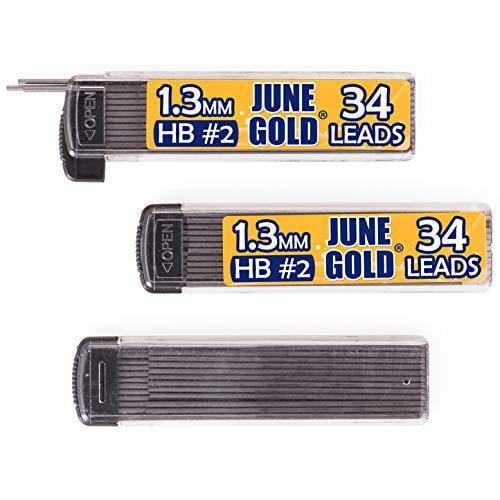 102 Lead Refills, 1.3 mm HB #2, Medium Bold Thickness, Break