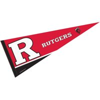 "Rutgers Scarlet Knights 12"" X 30"" Felt College Pennant"