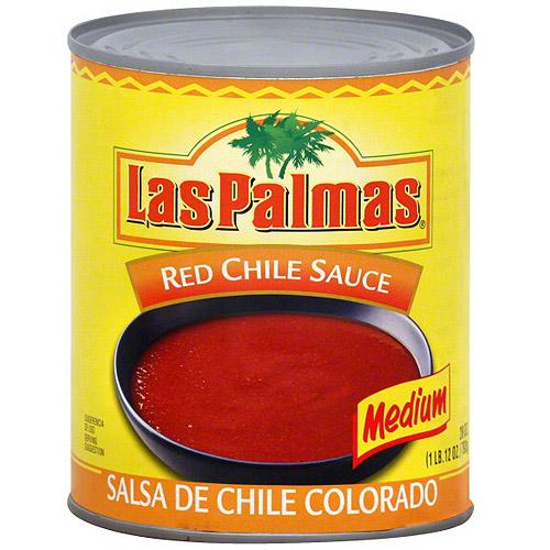 Las Palmas Red Chile Sauce, 28 oz (Pack of 12)