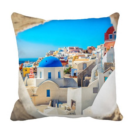 YKCG Blue Dome Church Look Pillowcase Pillow Cushion Case Cover Twin Sides 18x18 inches](Twin Cities Church Halloween)