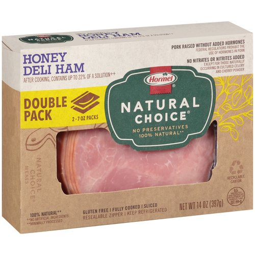 Hormel Natural Choice Honey Deli Sliced Ham, 14 oz