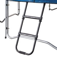 Pure Fun 38-Inch Universal Trampoline Ladder, with 2 Platform Steps, Black