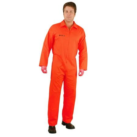 Halloween Bad Boy Dept Of Correction Adult Costume