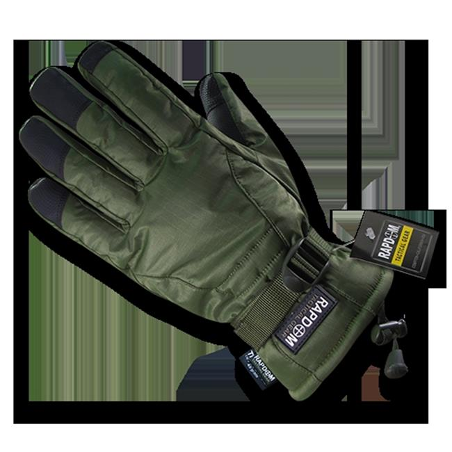 rapid dominance t57-pl-od-05 breathable winter gloves, olive dark 2x by Rapid Dominance