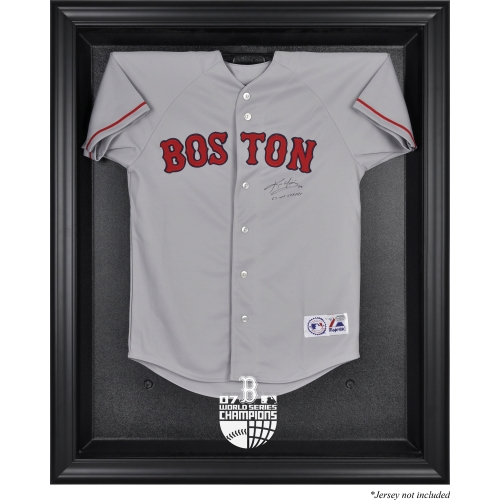 Boston Red Sox Fanatics Authentic 2007 World Series Champions Black Framed Logo Jersey Display Case - No Size