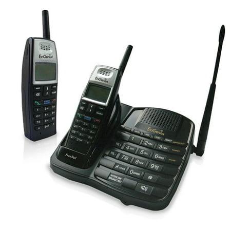 Engenius FreeStyl (2 Handsets) Extreme Range Single Line Cordless Phone