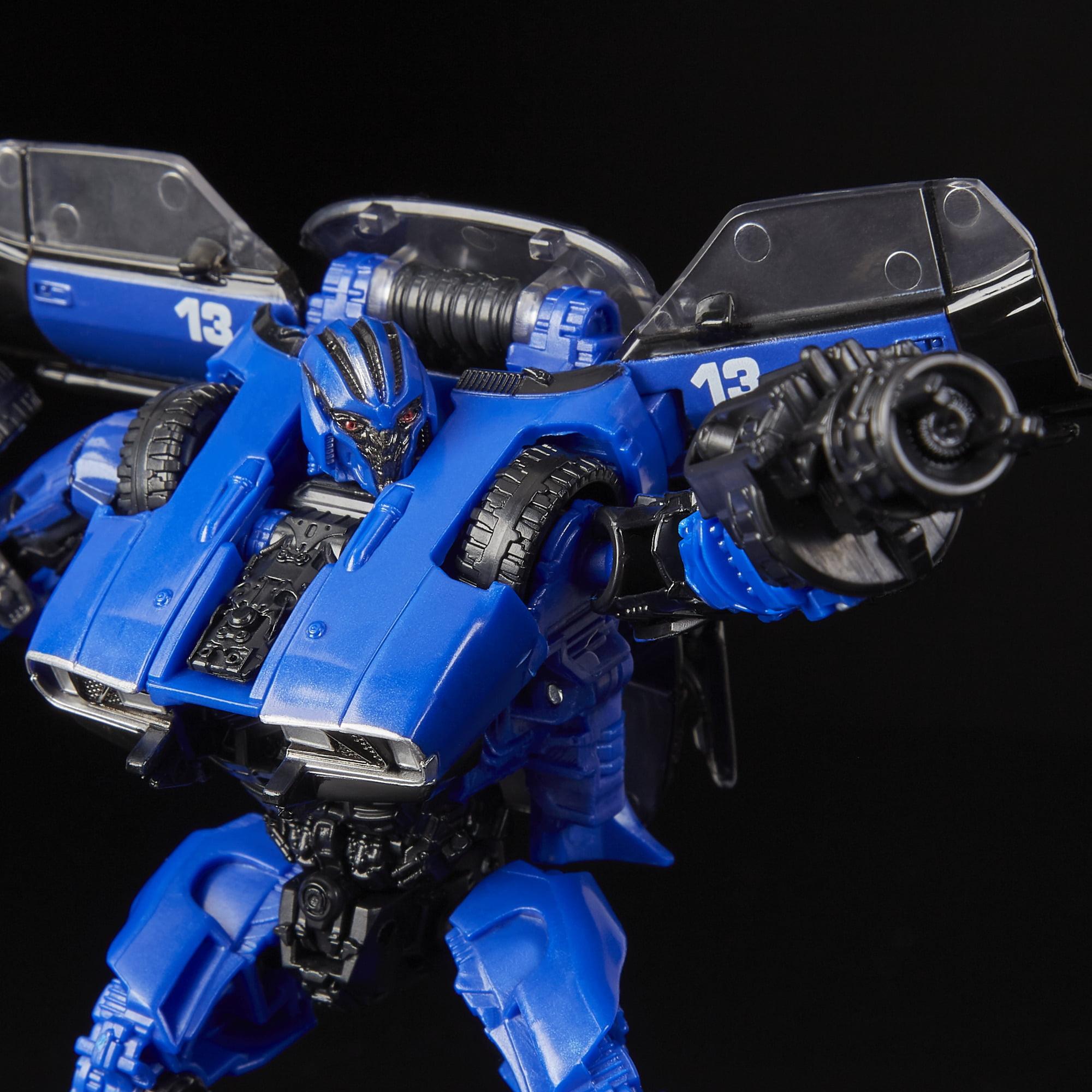 Transformers Toys Studio Series 46 Deluxe Class Bumblebee Movie Dropkick Figure