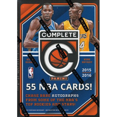 2015 2016 Panini Complete Series NBA Basketball Unopened Blaster Box That Contains 11 Packs with 5 Cards (2016 17 Panini Nba Hoops Basketball Cards)