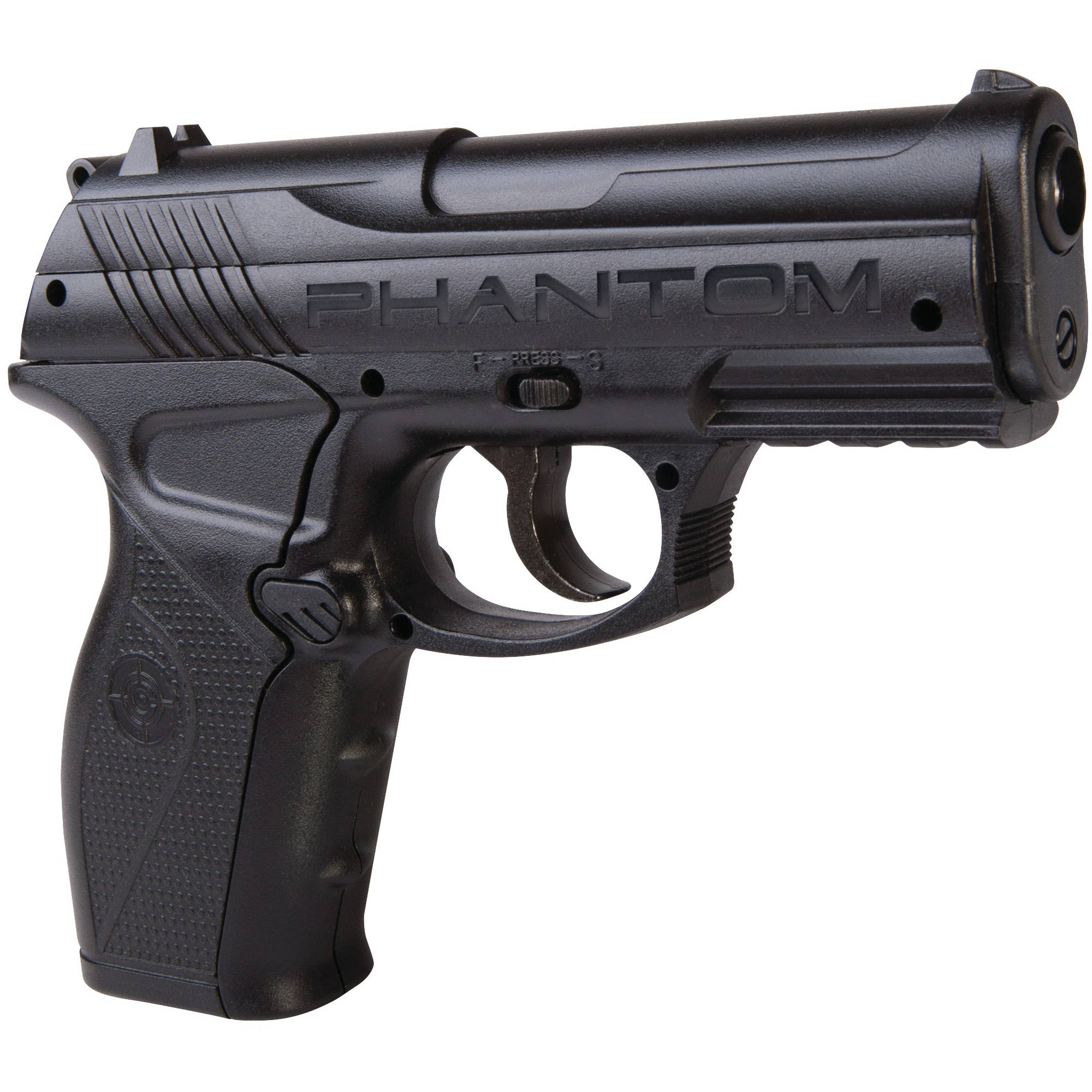 Crosman P10 Phantom .177 Caliber Semi-Auto CO2 Air Pistol, 480fps