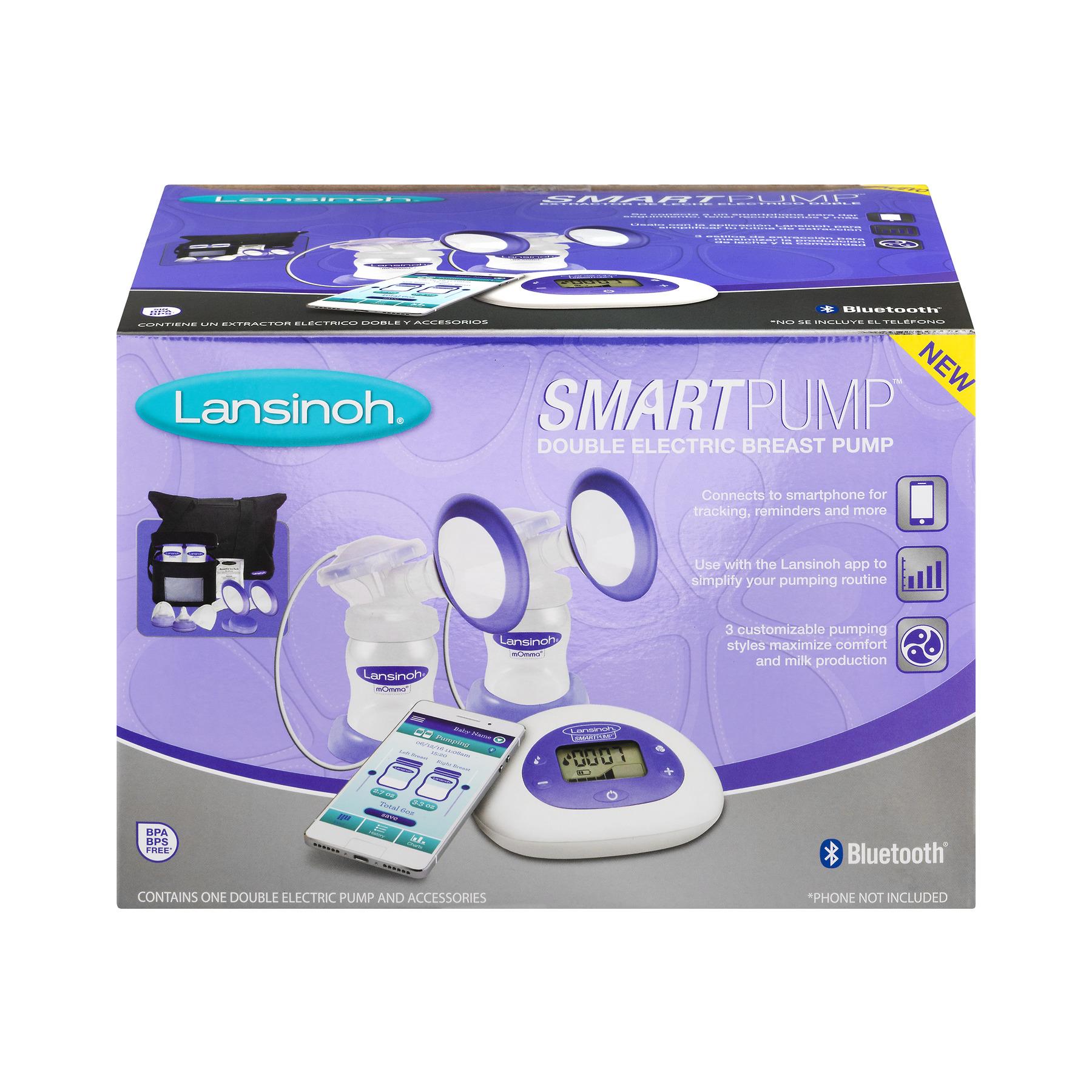 Lansinoh Smartpump Double Electric Breast Pump by Lansinoh