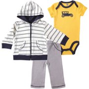 Newborn Baby Boys' and Girls' Hoodie, Pant & Bodysuit, Choose Your Color & Size