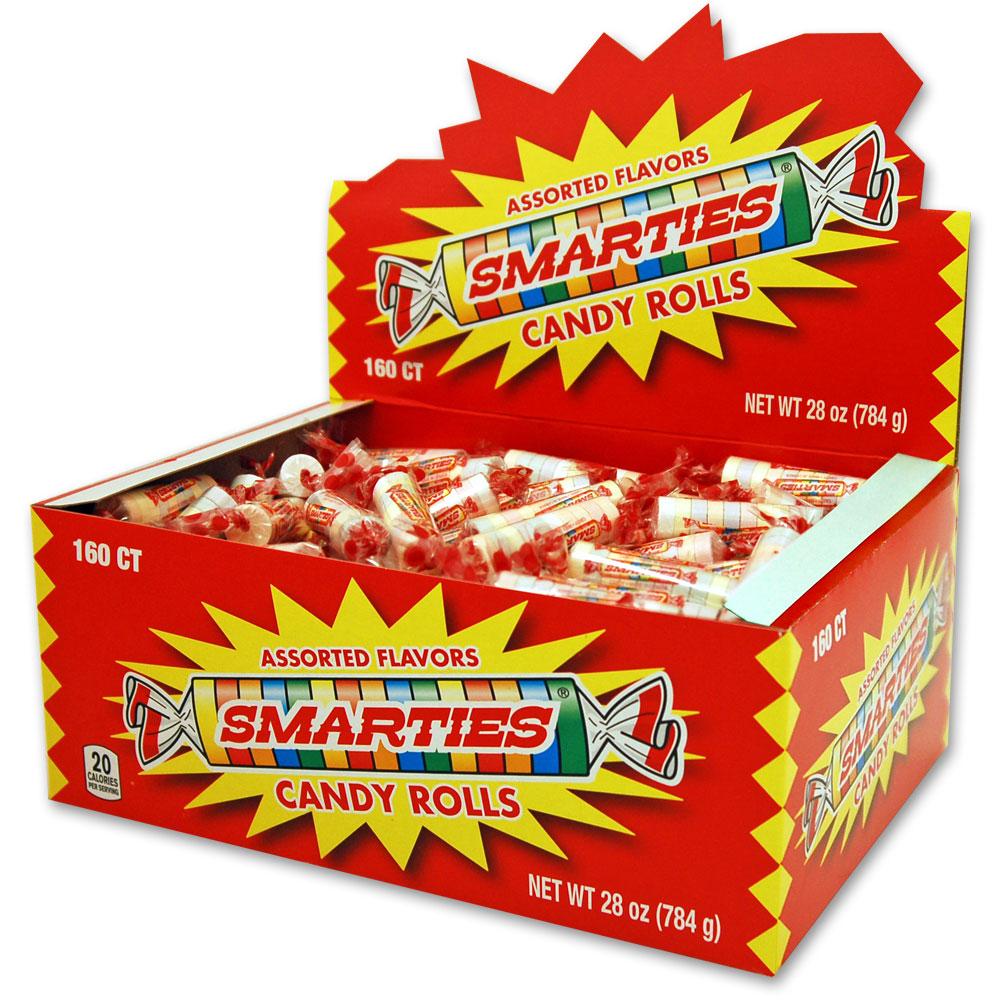 Smarties Candy Rolls 160 ct - Walmart.com Smarties Flavors
