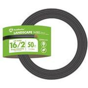 Southwire 16-26 Low Voltage Landscape Cord 16/2 100Ft Black